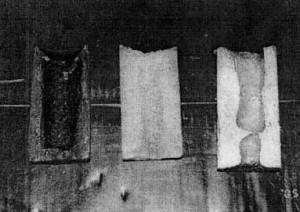 Hình 3. Stearin, paraphin và hợp kim nhôm