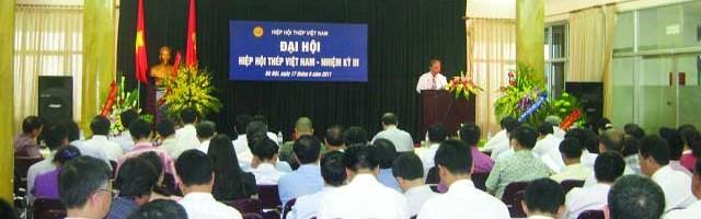 Đại hội Hiệp hội Thép Việt Nam nhiệm kỳ III (năm 2011- 2015) thành công rực rỡ