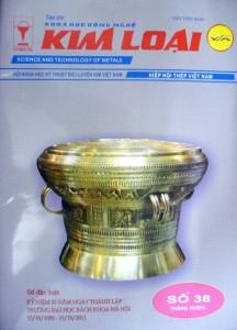 Tạp chí kim loại số 38