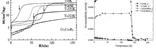 Một số vấn đề từ tính của các điện tử linh động trong một số hợp chất liên kim đất hiếm-kim loại chuyển tiếp