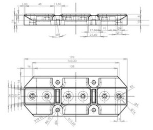 Hình 2. Hình dạng, kích thước chi tiết sản phẩm