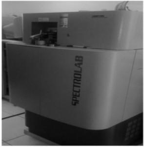 Hình 2. Máy phân tích quang phổ phát xạ Spectrolab