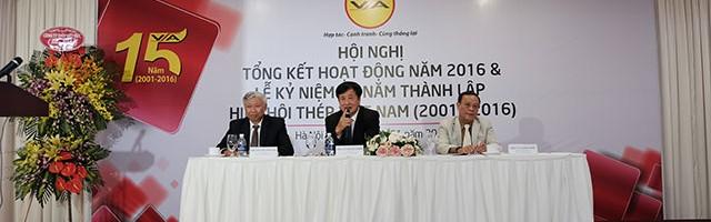 Hội nghị Tổng kết hoạt động năm 2016 và Lễ kỷ niệm 15 năm Thành lập Hiệp hội Thép Việt Nam (2001 – 2016)
