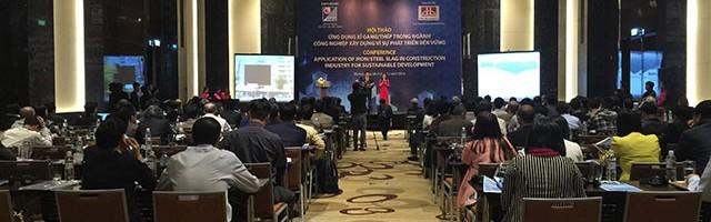 """Hội thảo """"Ứng dụng xỉ gang/ thép trong ngành công nghiệp xây dựng vì sự phát triển bền vững"""""""