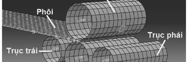 Mô phỏng và thực nghiệm quá trình uốn thép tấm dày tạo ống đường kính lớn trên máy uốn bốn trục