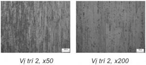 Hình 7. Tổ chức tế vi mẫu trước khi biến dạng chồn vị trí thứ 2