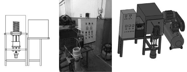 Hình 3. Sơ đồ thiết bị tiến hành thí nghiệm [10]