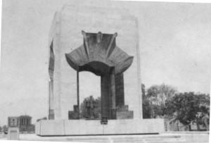 Đài tưởng niệm các anh hùng liệt sỹ đường Bắc Sơn - Hà Nội