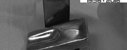 Nâng cao cơ tính thép mangan cao nấu luyện từ sắt xốp trong lò điện cảm ứng trung tần