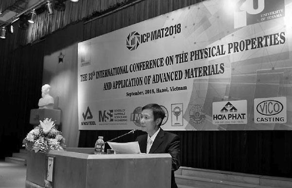 PGS Đào Hồng Bách - Trưởng Ban tổ chức Hội thảo phát biểu